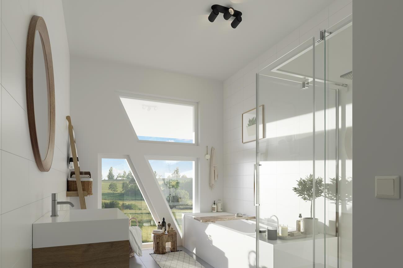 Badezimmer | Innenaussicht | Gutshof-Living-Jena